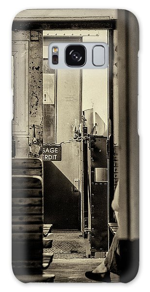 Galaxy Case featuring the photograph Steam Train Series No 33 by Clare Bambers