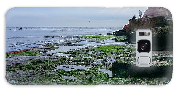 Steamer Lane Santa Cruz Galaxy Case by Mark Barclay