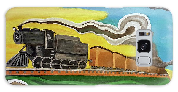 Steaming West Bound Galaxy Case by Margaret Harmon