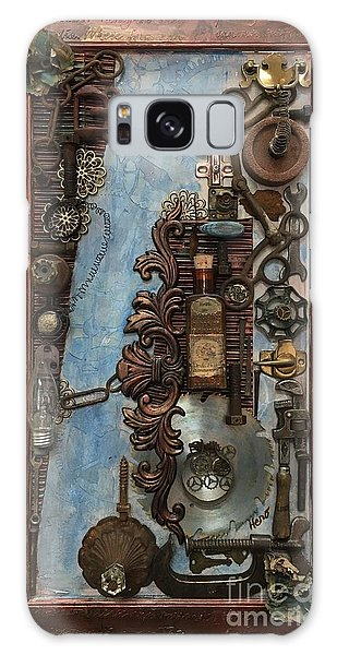 Steampunk 1 Galaxy Case