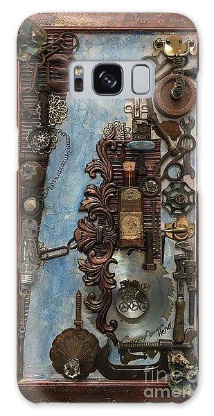 Steampunk 1 Galaxy Case