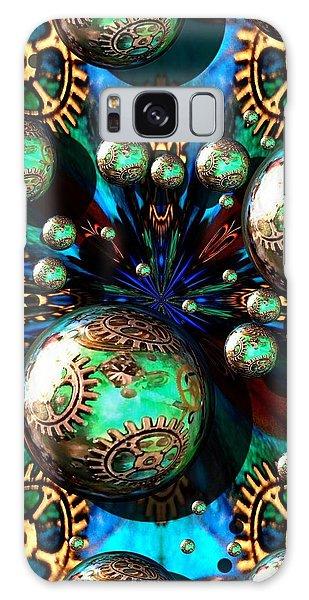 Steampunk Fractal 71216.4 Galaxy Case