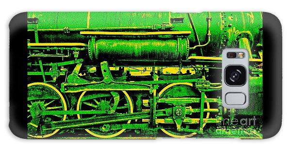 Steampunk Iron Horse No. 3 Galaxy Case