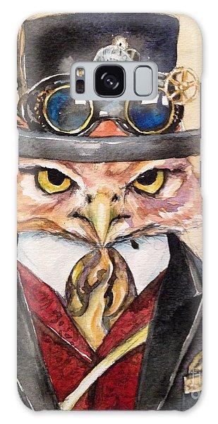 Steampunk Owl Mayor Galaxy Case by Christy  Freeman