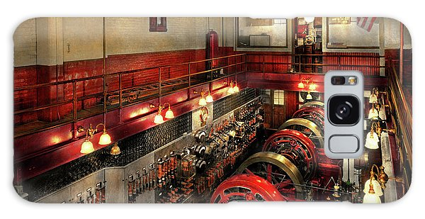 Art Institute Galaxy Case - Steampunk - The Engine Room 1974 by Mike Savad