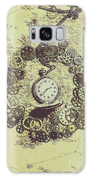 Navigation Galaxy Case - Steampunk Travel Map by Jorgo Photography - Wall Art Gallery