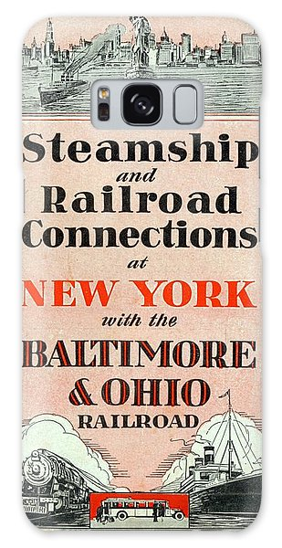 Steamship And Railroad Connections At New York Galaxy Case