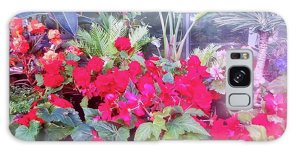 Steamy Heat In The Glasshouse Galaxy Case