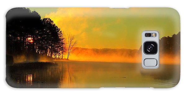 Steamy Sunrise Galaxy Case