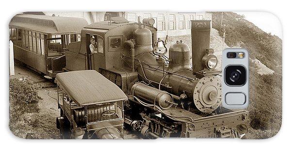 Stean Engine No. 8 Mount Tamalpais Circa 1920 Galaxy Case