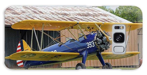 Stearman And Old Hangar Galaxy Case