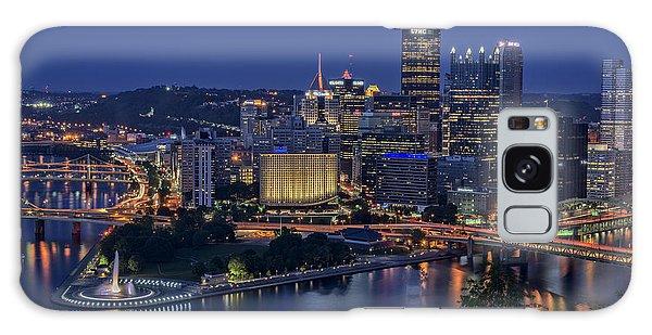 Steel City Glow Galaxy Case