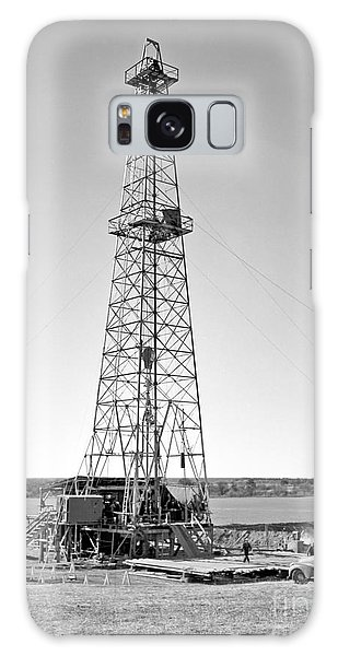 Steel Oil Derrick Galaxy Case