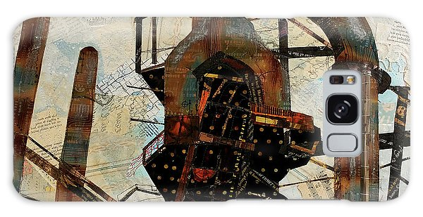 Steel Stacks Squared Galaxy Case