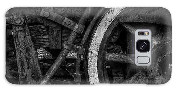 Steel Wheels In Monochrome Galaxy Case