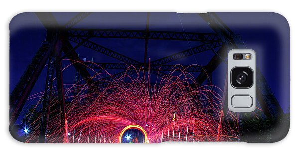 Steel Wool Spinner Galaxy Case