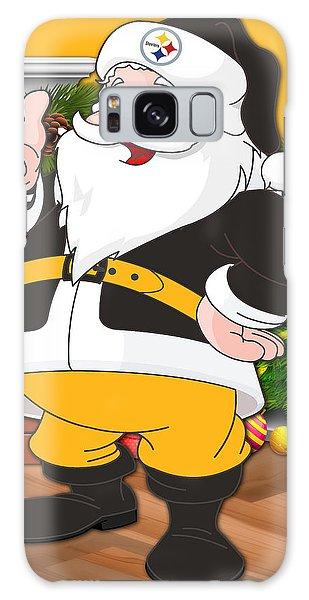 Santa Claus Galaxy Case - Steelers Santa Claus by Joe Hamilton