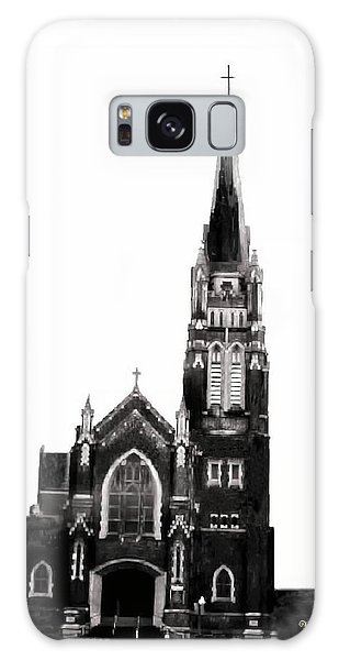 Steeple Chase 1 Galaxy Case by Sadie Reneau