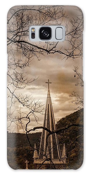 Steeple Of Time Galaxy Case