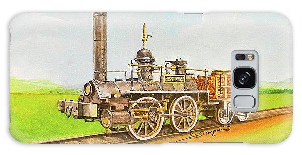 Galaxy Case - Steam Engine Mississippi by Johannes Margreiter