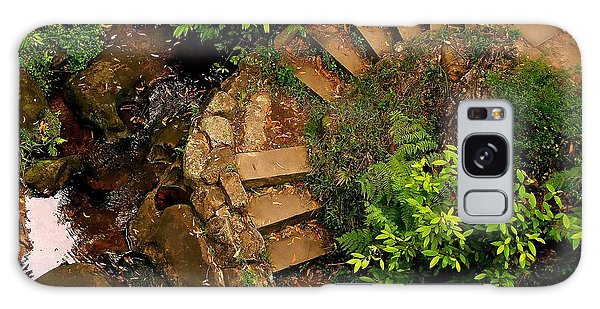 Steps Leading Up The Stairway To Heaven Galaxy Case by Blair Stuart
