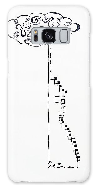 Steps To The Clouds Galaxy Case
