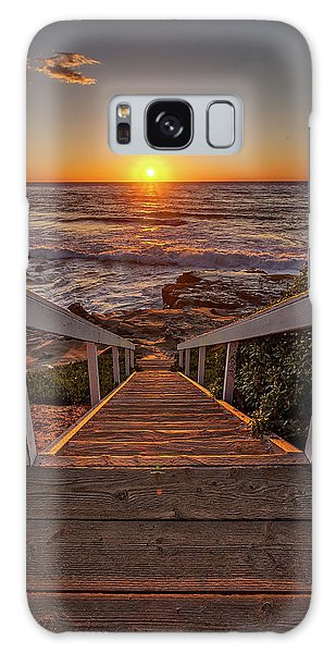 Steps To The Sun  Galaxy Case by Peter Tellone
