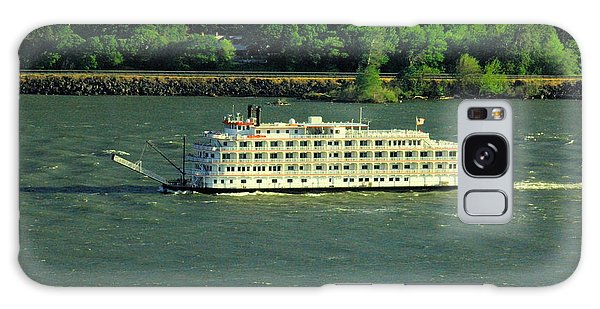 Swan Boats Galaxy Case - Stern Wheeler On The Columbia River  by Jeff Swan