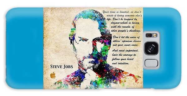 Steve Jobs Portrait Galaxy Case