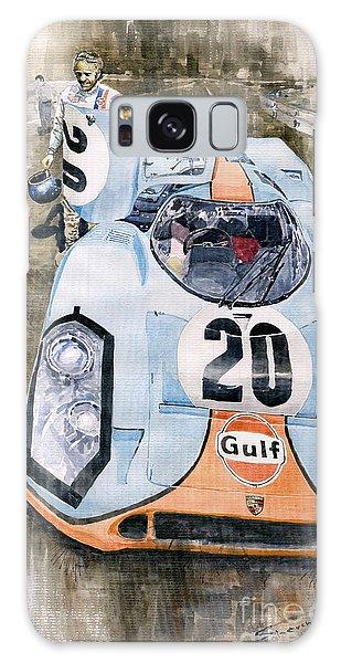 Classic Galaxy Case - Steve Mcqueens Porsche 917k Le Mans by Yuriy Shevchuk
