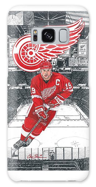 Steve Yzerman  Galaxy Case