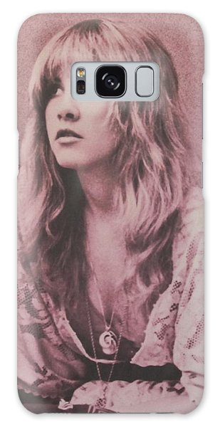Music Galaxy S8 Case - Stevie Nicks  by Donna Wilson
