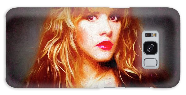 Stevie Nicks Drawing Galaxy Case
