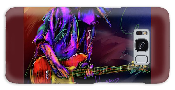 Stevie Ray Vaughan Galaxy Case by DC Langer