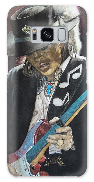 Stevie Ray Vaughan  Galaxy Case by Lance Gebhardt
