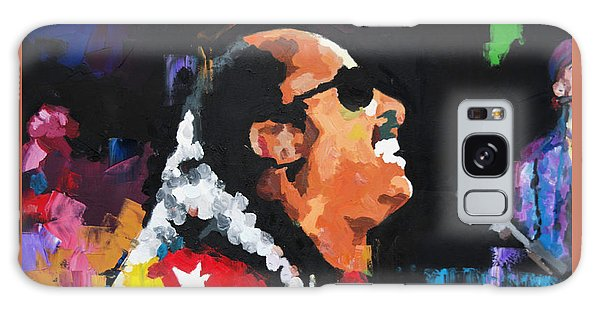 Stevie Wonder Live Galaxy Case by Richard Day