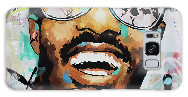 Stevie Wonder Portrait Galaxy Case