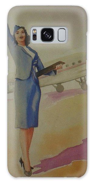Stewardess And Dc3 Galaxy Case