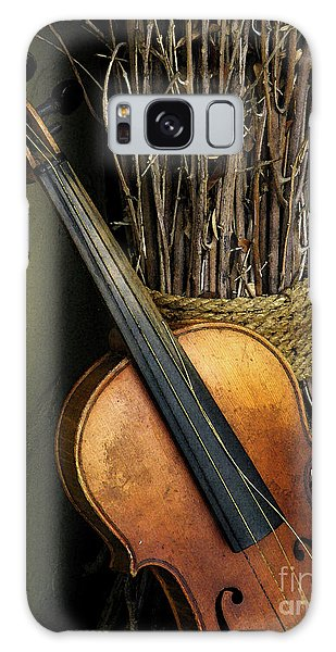 Sticks And Strings Galaxy Case by Joe Jake Pratt