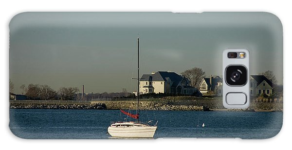Still Boat Galaxy Case