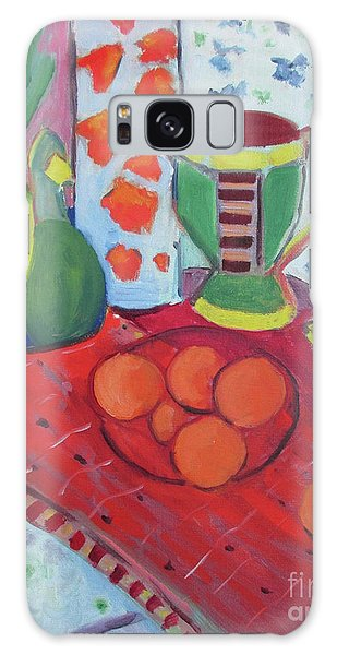 Galaxy Case - Still Life After Matisse by Liberty Dickinson
