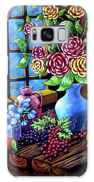 Still Life By The Window Galaxy Case