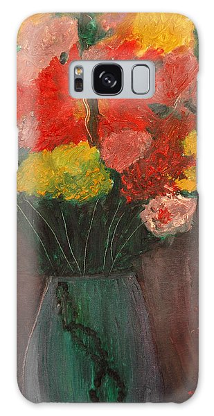 Flowers Still Life Galaxy Case
