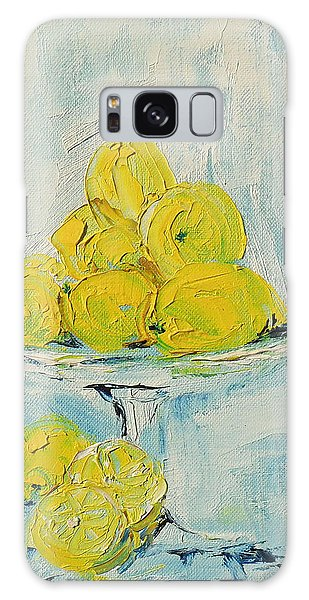 Still Life - Lemons Galaxy Case