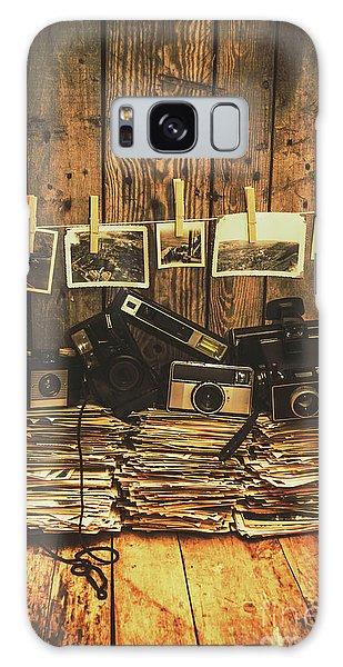 Camera Galaxy Case - Still Life Nostalgia by Jorgo Photography - Wall Art Gallery