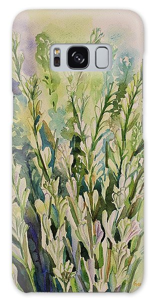 Still Life Of Tuberose Flowers Galaxy Case