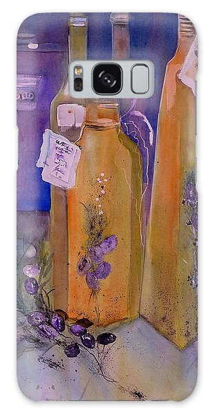 Still Life Olive Oil And Olive Twigs Galaxy Case