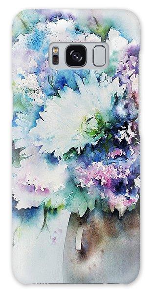 Still Life Rose Bouquet Watercolour Galaxy Case