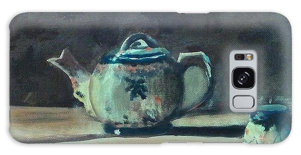 Still Life Teapot And Sugar Bowl Galaxy Case