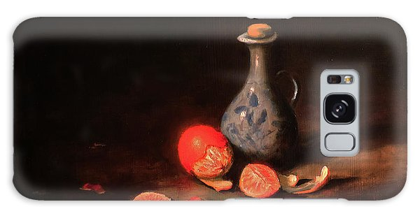 Still Life With A Little Dutch Jug Galaxy Case by Barry Williamson